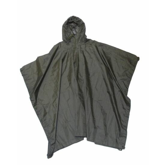 Poncho M-Tramp, material ripstop