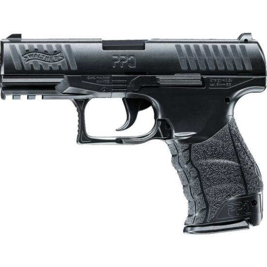 Pistol cu arc airsoft Walther PPQ Navy Kit