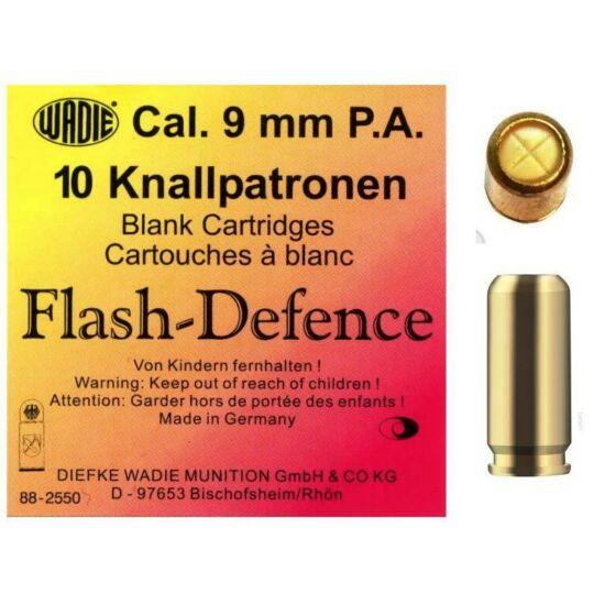 Cartuș autoapărare 9mm PA Flash Defence