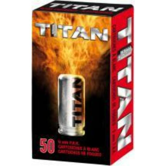 Cartuș Perfecta Titan 9mm PAK, pentru arme