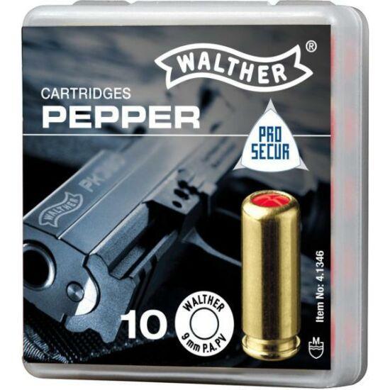 Cartuș autoapărare, Walther 9mm PA PV, cu gaz