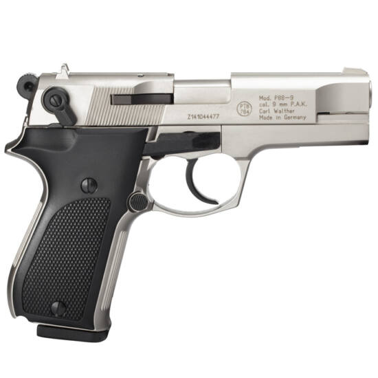 Pistol cu gaz Walther P88 Nikkel 9mm PAK
