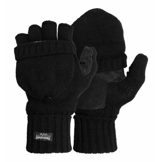 Mănuși pentru tir, cu palmă din piele
