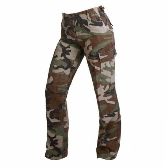 Pantaloni damă Mil-Tec BDU, camuflaj
