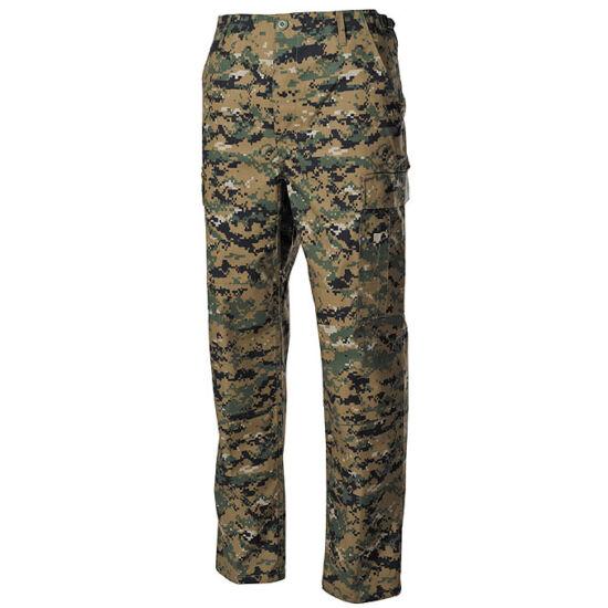 Pantaloni practici americani ACU Rip Stop