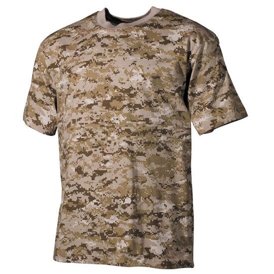 U.S. tricou camuflaj, culoarea deșertului