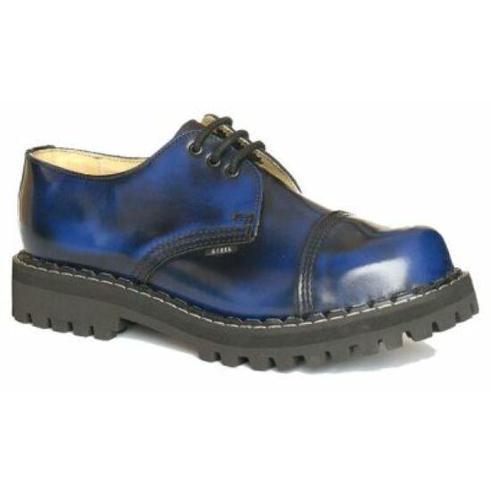 Bocanci Steel Boots cu 3 găuri, albastru