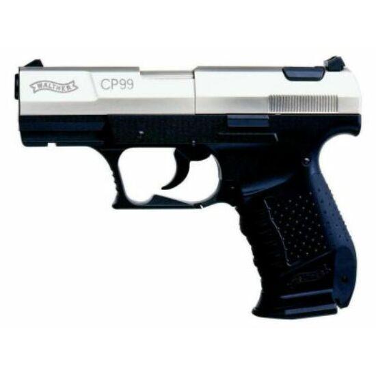 Pistol cu CO2 Walther CP99, nichelat