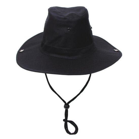 Pălărie neagră de pescar