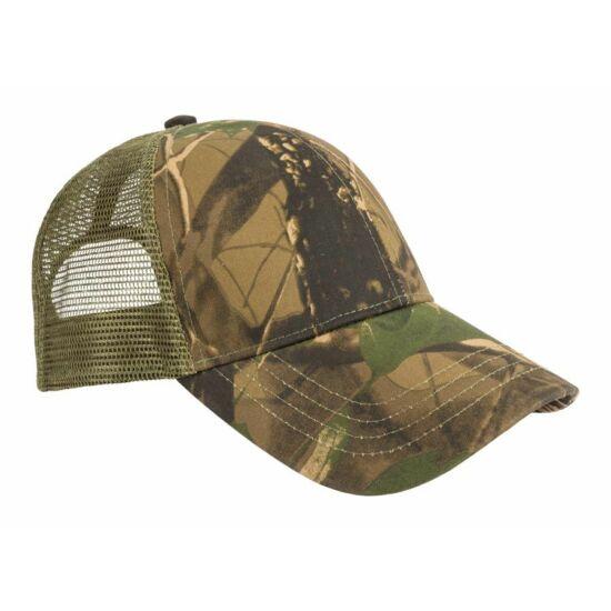 Șapcă de baseball, plasă, imprimeu forestier