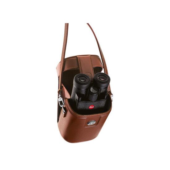 Binoclu Leica Ultravid 8x20 BL, manşon din piele maro