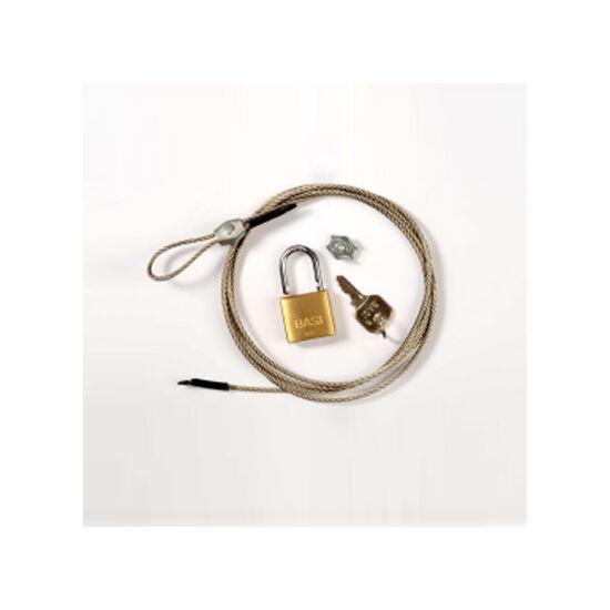Cablu de securitete + lacăt pentru camerele Minox DTC