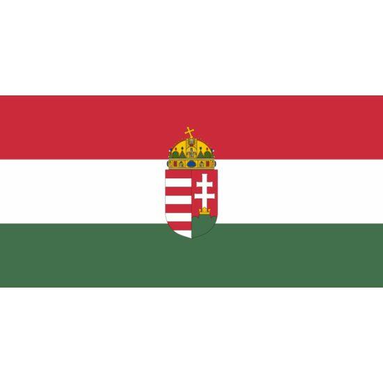 Drapel Ungaria cu stema