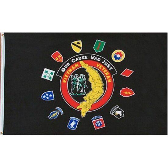 Drapel vietnamez de veteran